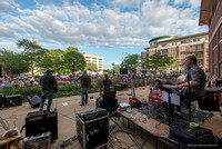 "Suburban Cowboys at Mount Prospect ""Friday on the Green. 4 Aug 2017"